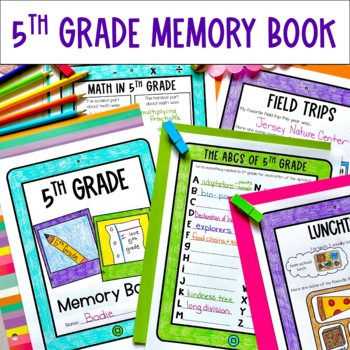 End of the year bundle 5th grade memory book awards and top ten lists ccuart Choice Image