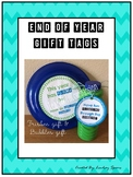End of Year Student Gift Tags and Farewell Letter