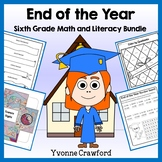 End of the Year Bundle for 6th grade