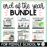 End of the Year Bundle for Older Kids