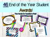 End of the Year Awards Packet with 46 Awards!