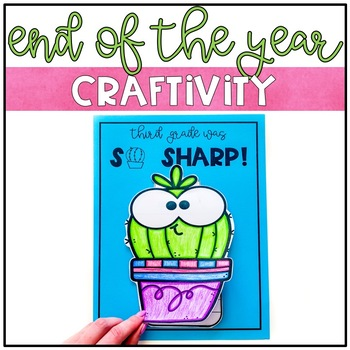 End of the Year: Cactus Memory Book