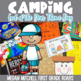 End of the Year Activities Camping Day | Distance Learning