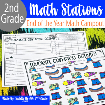 End of the Year Campout: A 2nd Grade Math Review