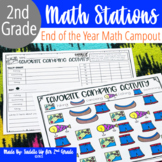 May Math Centers and Activities for 2nd Grade | End Of The Year Review