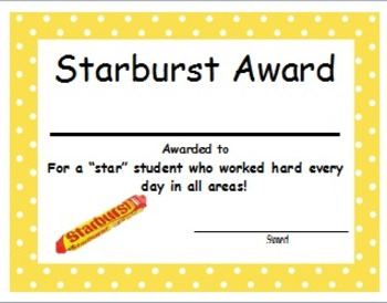 End of the Year Candy Bar Awards!
