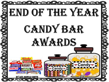 End of the Year Candy Bar Awards