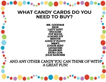 End of the Year Candy Bar Awards - Editable and Full Color!