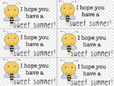 End of the Year Candy Gift Tag - Sweet Summer