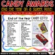 End of the Year Candy Gift Tags {Editable}