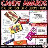 End of the Year Candy Awards {Editable}