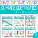 End of the Year Cards/Gift Tags + Certificates/Awards