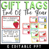 End of the Year Cards & Gift Tags/ Summer