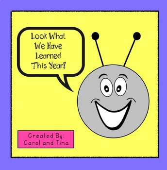 End of the Year Parade:  Brainstorm Things You've Learned!