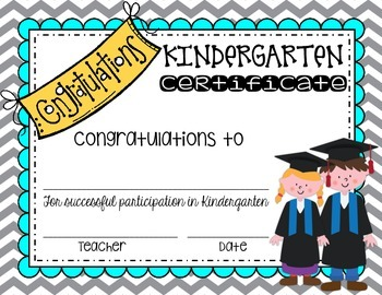 End of the Year Certificate