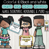 End of the Year Awards Plus Bookmarks, Headbands and Student Goodie Bag Ideas