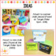 End of the Year Chalk Gift Tags (Editable and PDF)