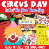 End of the Year Activities  Circus Day