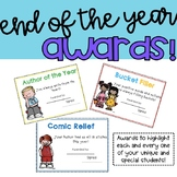 End of the Year Class Awards