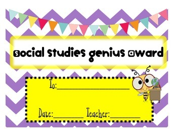 End of the Year Class Awards Freebie!!