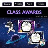 End of the Year Class Awards Out of this World {EDITABLE}