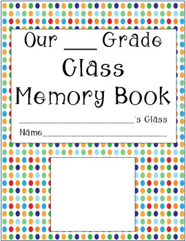 End of the Year Class Book