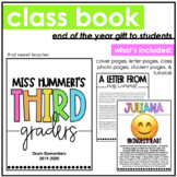 End of the Year | Class Book to Students | Editable in PowerPoint