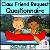 End of the Year FREEBIE: Friend Request Questionnaire