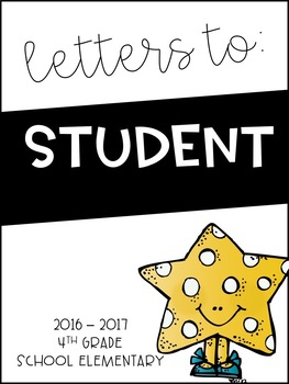 End of the Year Class Letters