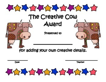 End of the Year Classroom Awards - Animal Theme