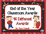 End of the Year:  Classroom Awards~Our Own Celebration