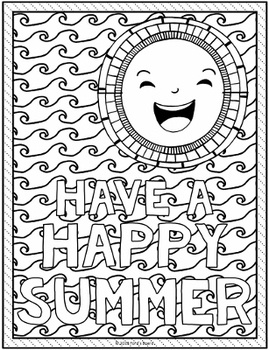 end of the year coloring pages End of the Year Coloring Pages | 10 Fun, Creative Designs by  end of the year coloring pages