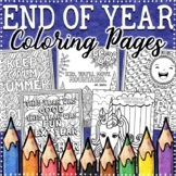 End of the Year Coloring Pages | Distance Learning Coloring Pages
