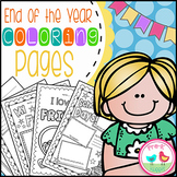 End of the Year Coloring Pages