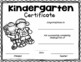 End of the Year Completion Certificates