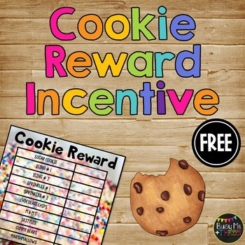 End of the Year Cookie Reward, Editable {A Fun Behavior In