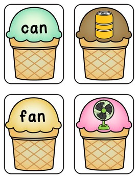 End of the Year Cool Ice Cream Math and Reading