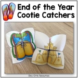 End of the Year Cootie Catchers / Fortune Tellers