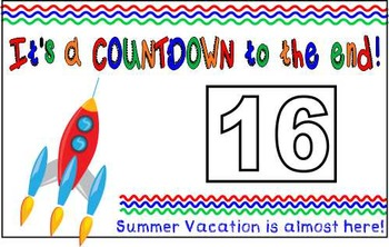Dollar Deal ~ End of the Year Countdown  11x17