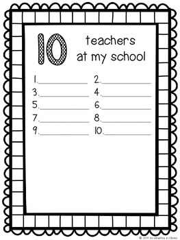 End of the Year Countdown Book