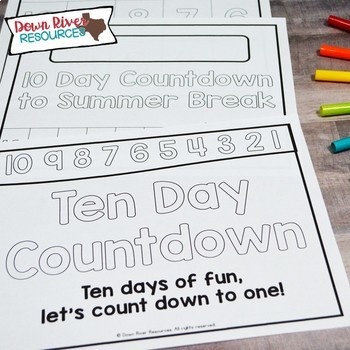 End of the Year Countdown | End of the Year Memory Book