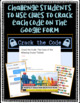 End of the Year Digital Crack the Code: Case of the Missing Cruise Tickets