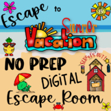 End of the Year DIGITAL Escape Room-NO PREP! Skill-Based and Fun