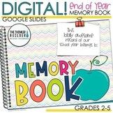 End of the Year DIGITAL Memory Book (Google Slides) Update