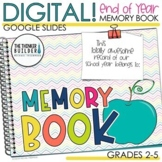 End of the Year DIGITAL Memory Book (Google Slides) Distan