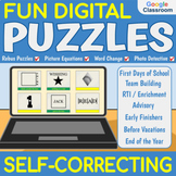 End of the Year: DIGITAL PUZZLES - Self-correcting | Dista