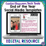 End of the Year DIGITAL Social Media Templates