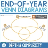 End of the Year Depth and Complexity Venn Diagram Activity