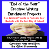 """""""End of the Year"""" Writing Projects that Students Love!"""