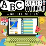 End of the Year Digital ABC Countdown on Google Slides
